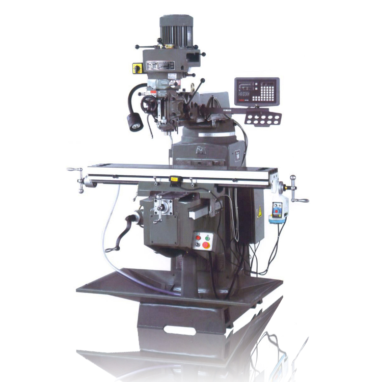 4H turret milling machine