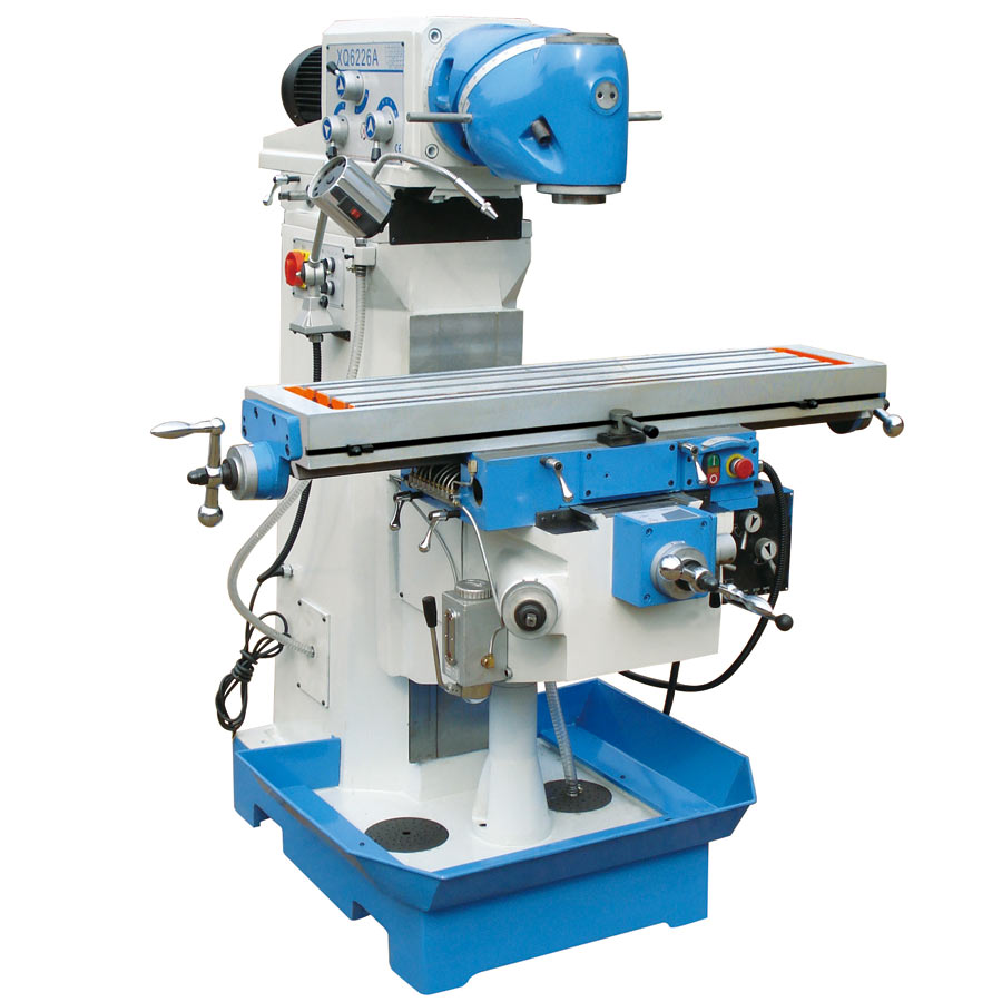 X6226 swivel head milling machine
